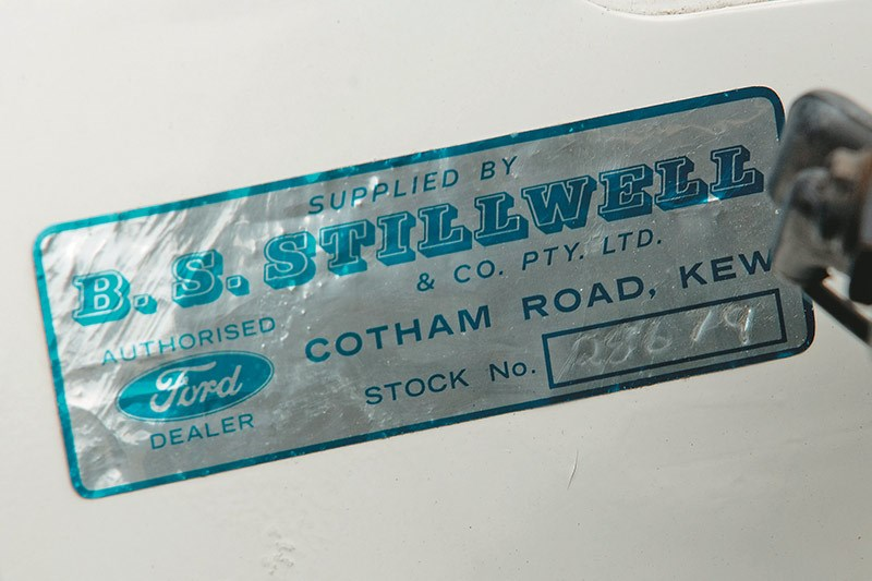 ford falcon six door wagon stillwell sticker