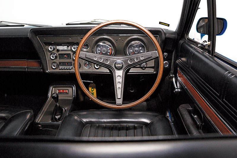 ford falcon xw gtho phase ii dash