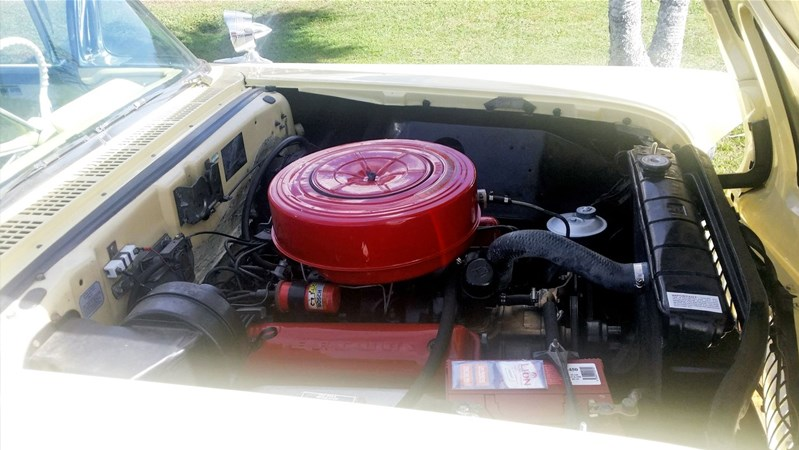 Mercury Turnpike Cruiser engine