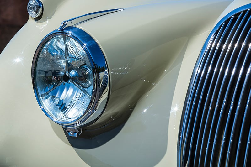 jaguar xk120 headlight