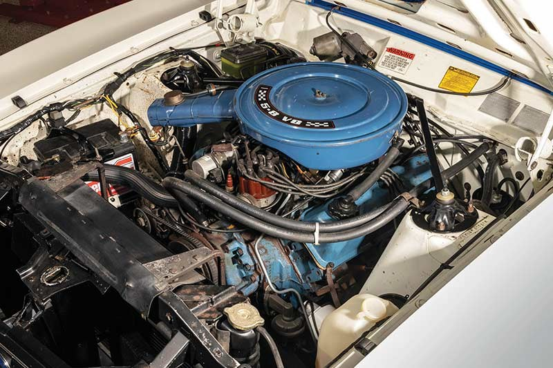 ford falcon xc cobra engine bay 4