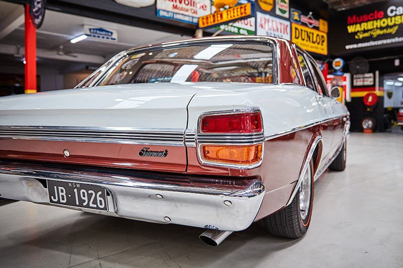 ford falcon xy rear