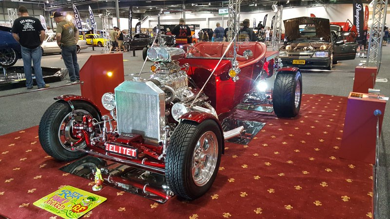 24 Peter Green s 1923 Ford T Bucket bagged a bunch of awards at 2015 Summernats including the Ed Roth Family Award