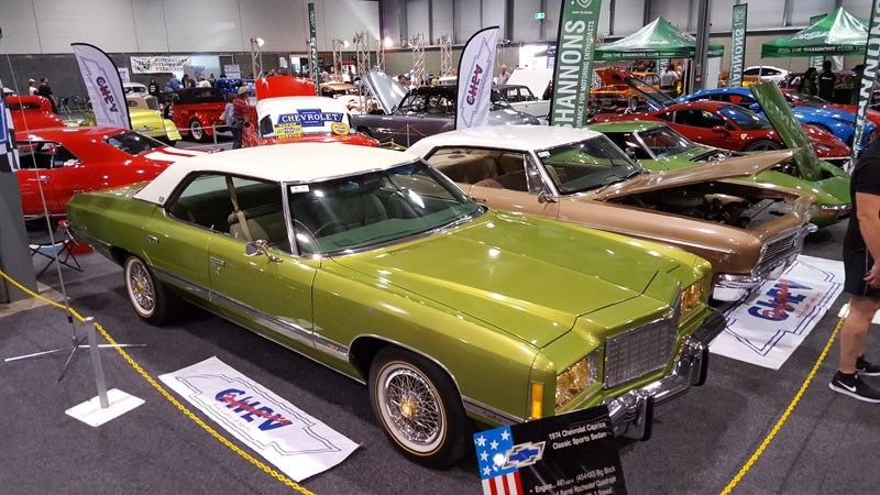31 Gavin Bourke s Malaise era 1974 Chev Caprice is a rare machine to see in these hallowed halls