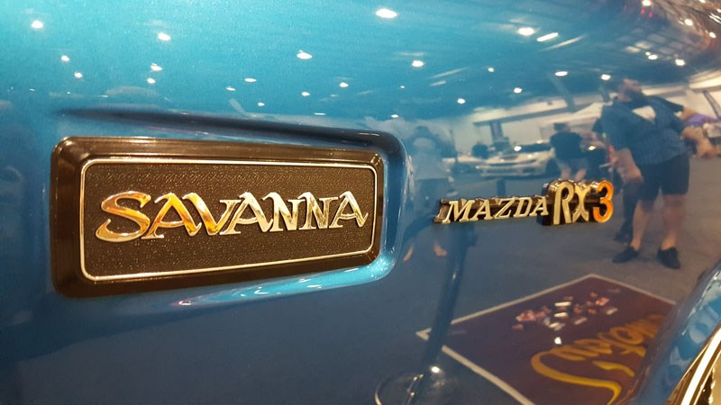 37 Mazda RX3 Savanna badge