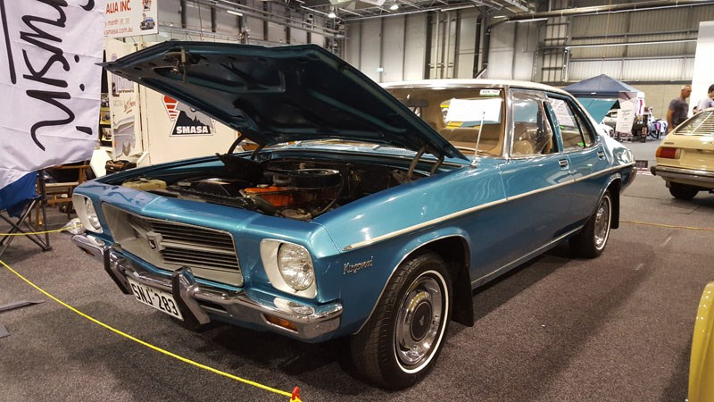 56 The SMASA club display included this mint highly optioned Kingswood with only 75 000ksm on it