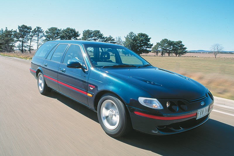 EL XR Falcon wagon