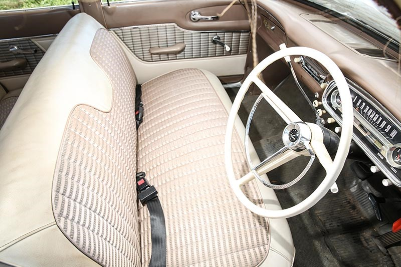 ford falcon xl interior