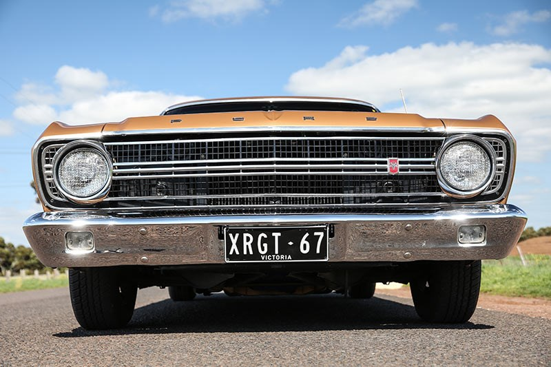 ford falcon xr gt front