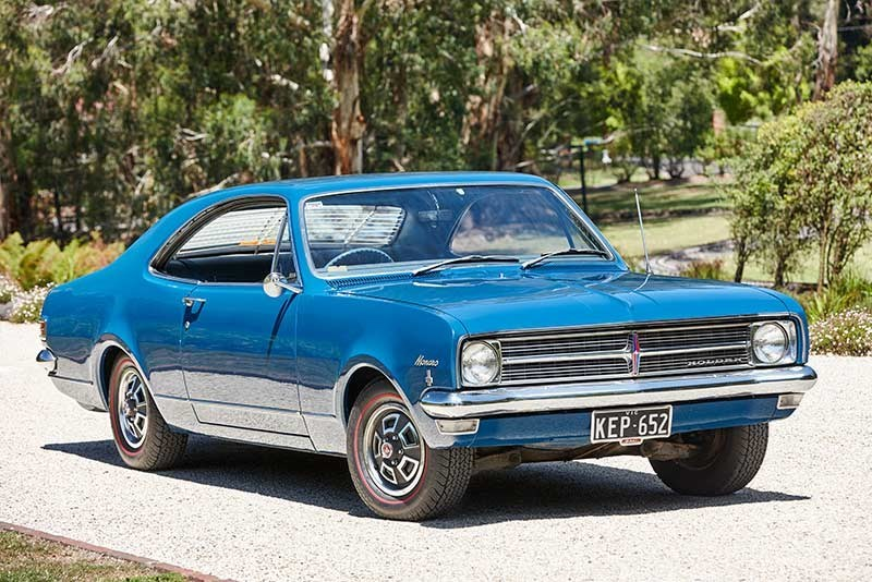 Holden Hk Monaro 186 side front