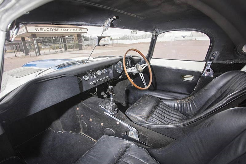 bob jane jaguar e type interior