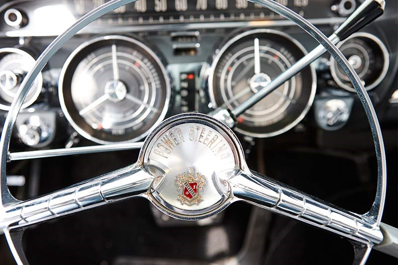 buick steering wheel