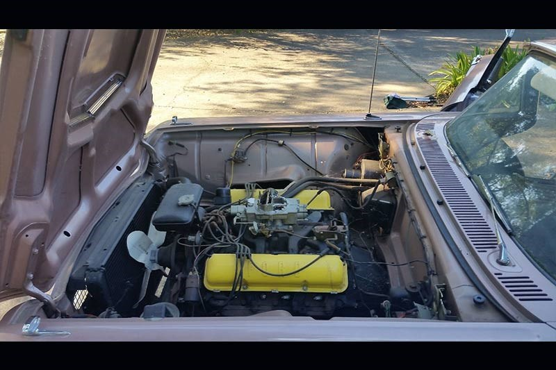 ford thunderbird engine bay