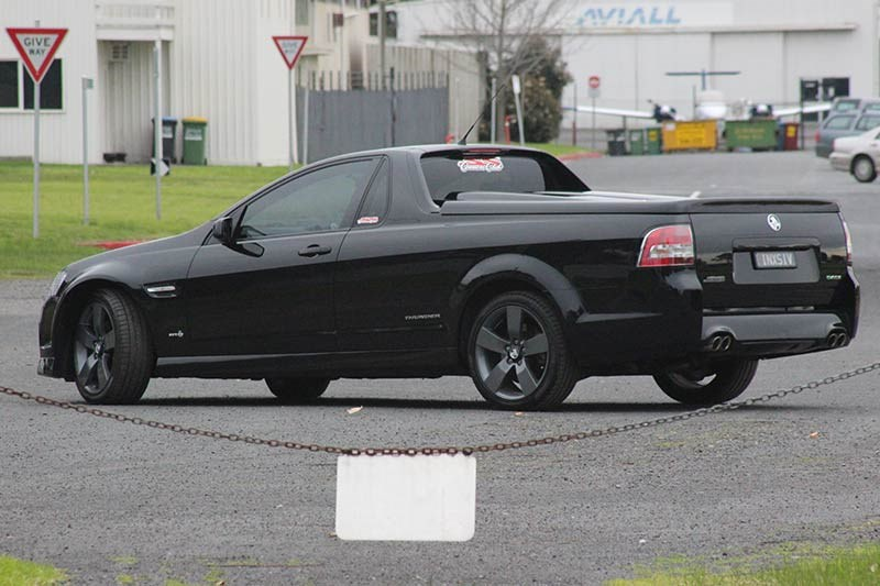 holden commodore ss ute rear