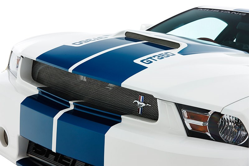modern mustang front grille