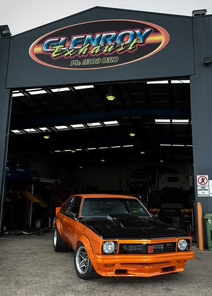 torana exhaust 1