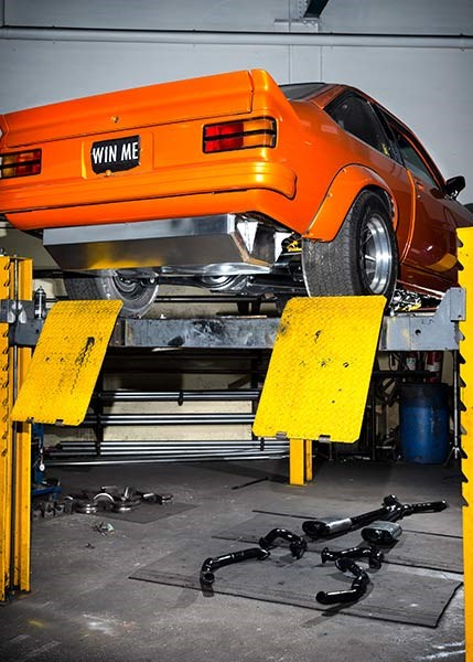 torana exhaust 14