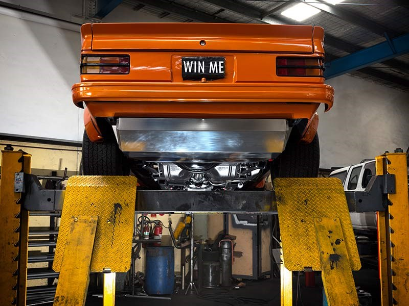 torana exhaust 2