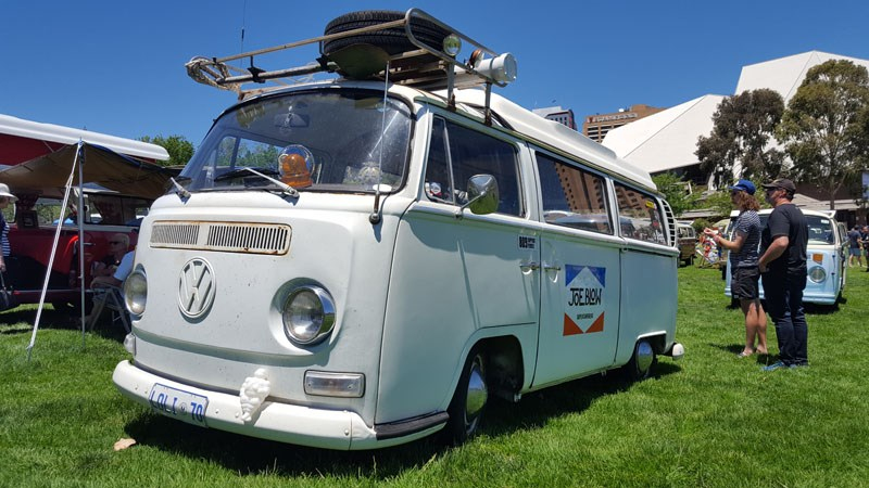 19 Early bay window low light camper was ultra stanced