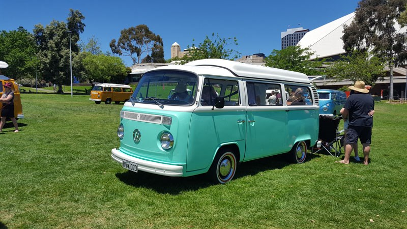 26 Later in the day when the other VWs thinned out Kombi camper owners simply boiled the kettle and kept on