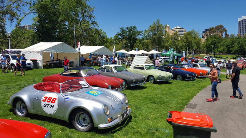 48 Porsche 356 kit car with a bunch of beautiful Karmann Ghias