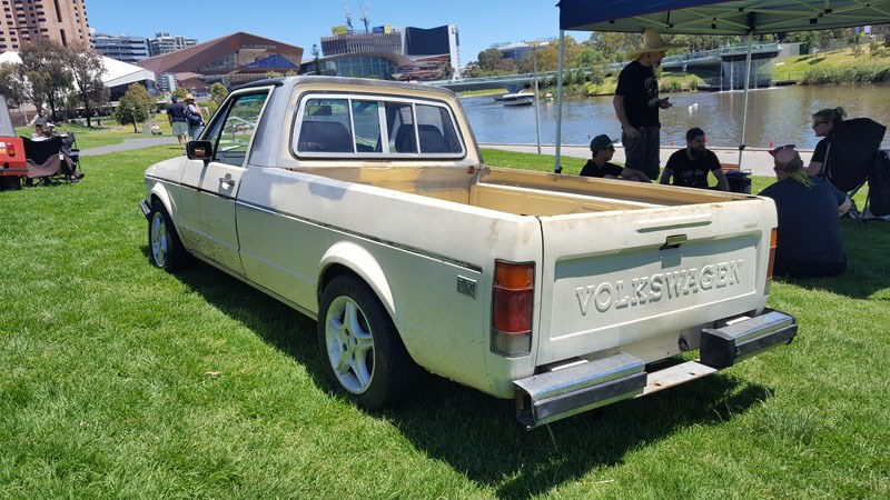 60 The VW Caddy was a Mark 1 Golf ute we re Aussies why were they never sold here
