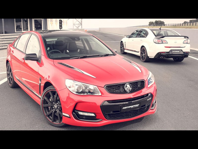 Holden commodore limited 2017