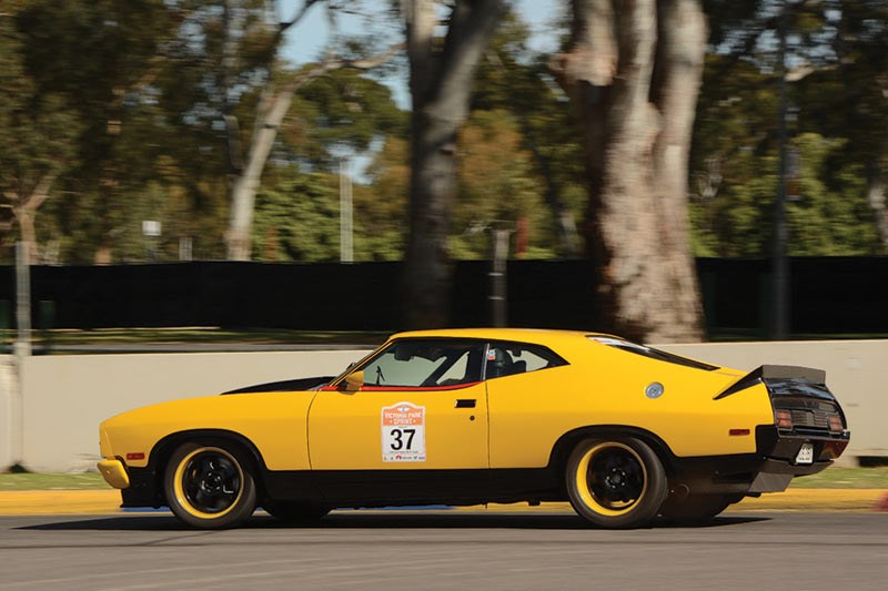 James Golding Ford XB Falcon ex Group c track