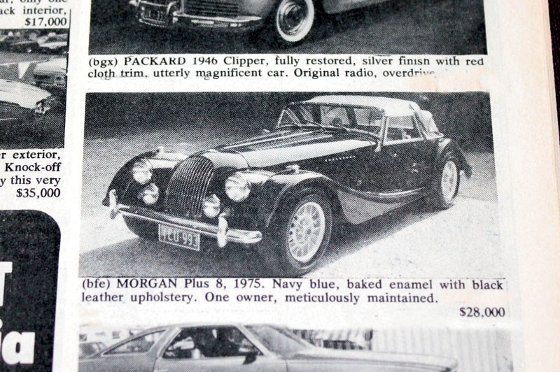 MORGAN PLUS 8 APR 85