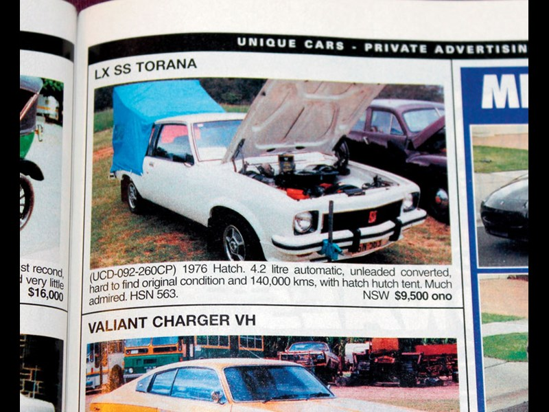 TORANA HATCH SEP 02 P105