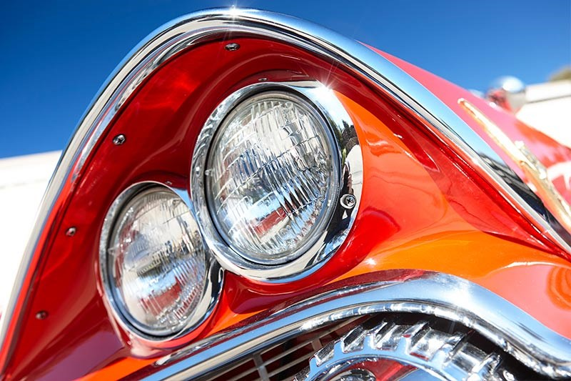 dodge custom royal headlight