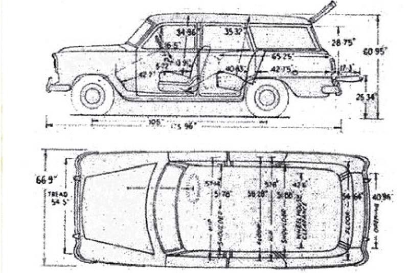 Holden FE blueprints