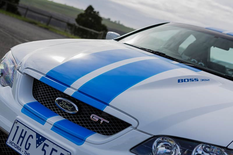 ford falcon cobra bf bonnet