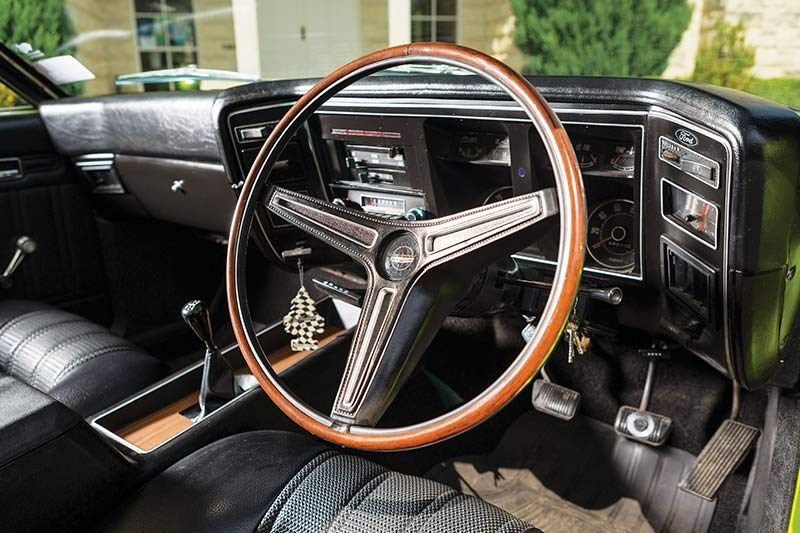 ford falcon coupe interior front 2