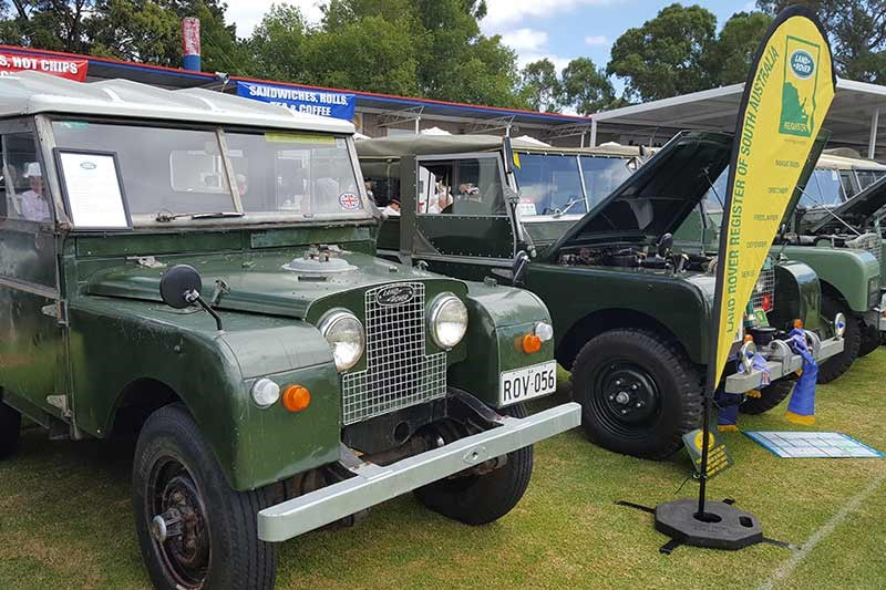 30 land rover register