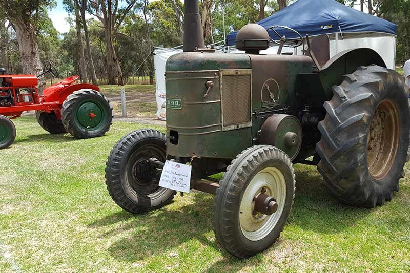 75 field marshall tractor