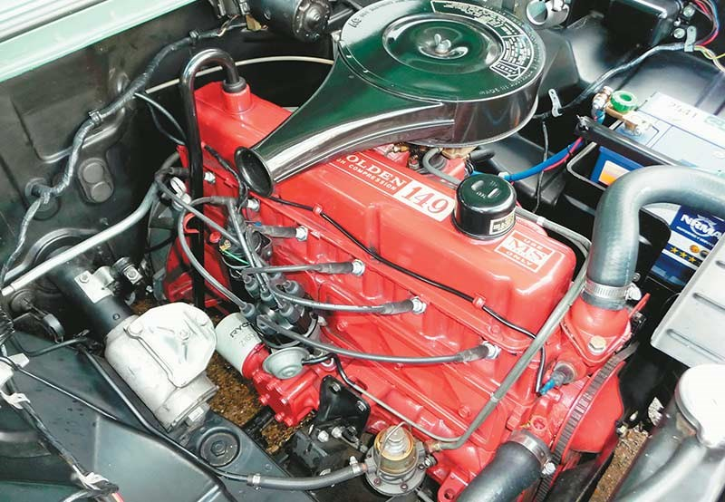 EH Holden 149 engine
