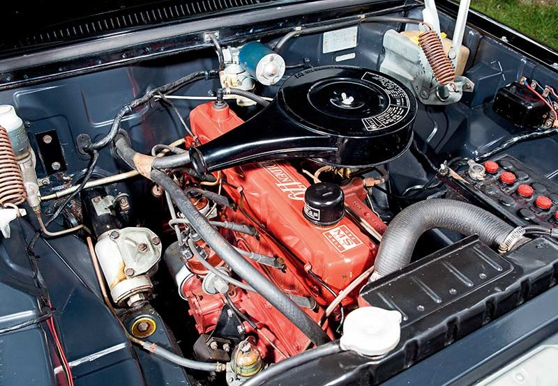 EH Holden engine 3