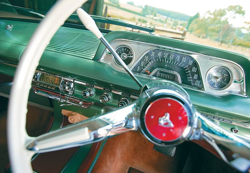 EH Holden steering wheel