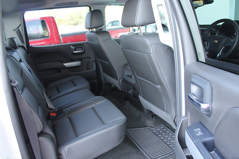 chevrolet silverado interior rear