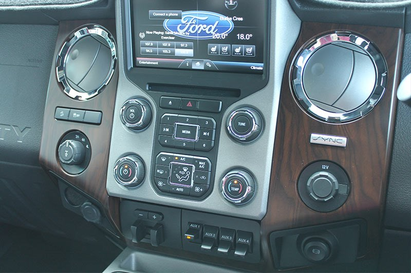 ford f250 console