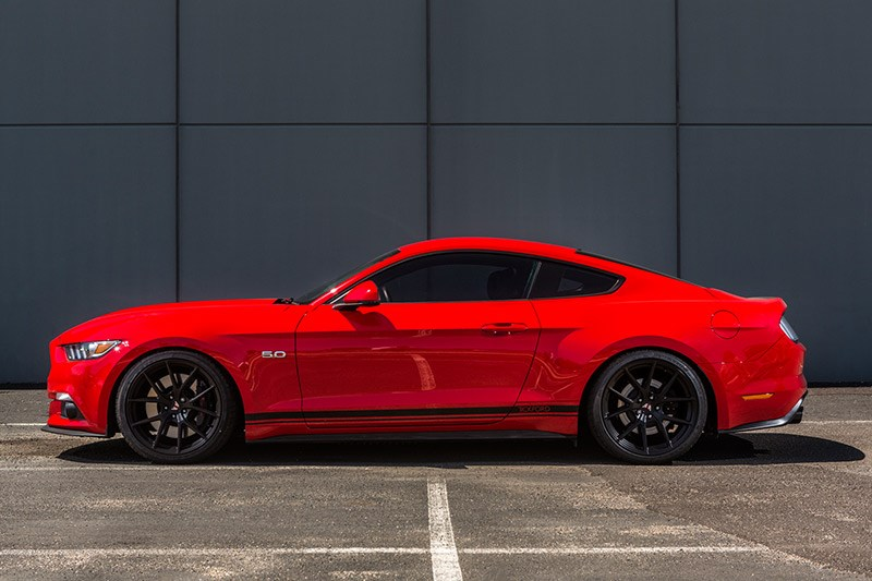 ford tickford mustang side view