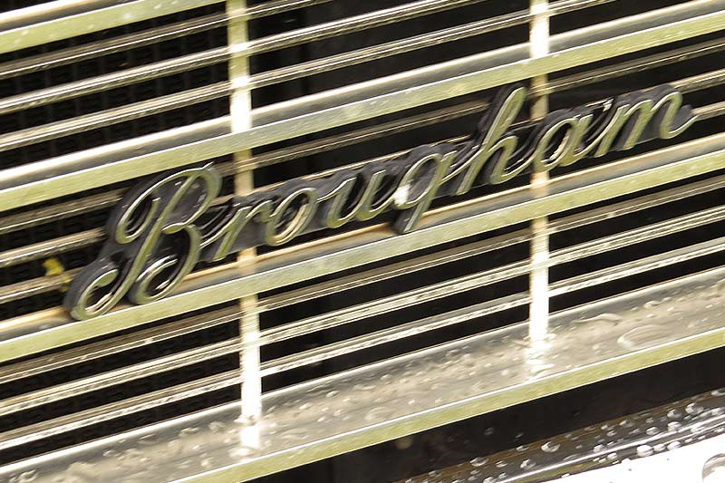 holden hg brougham badge
