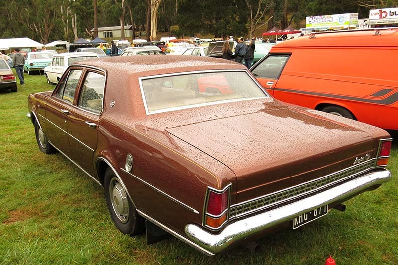 holden hg brougham rear