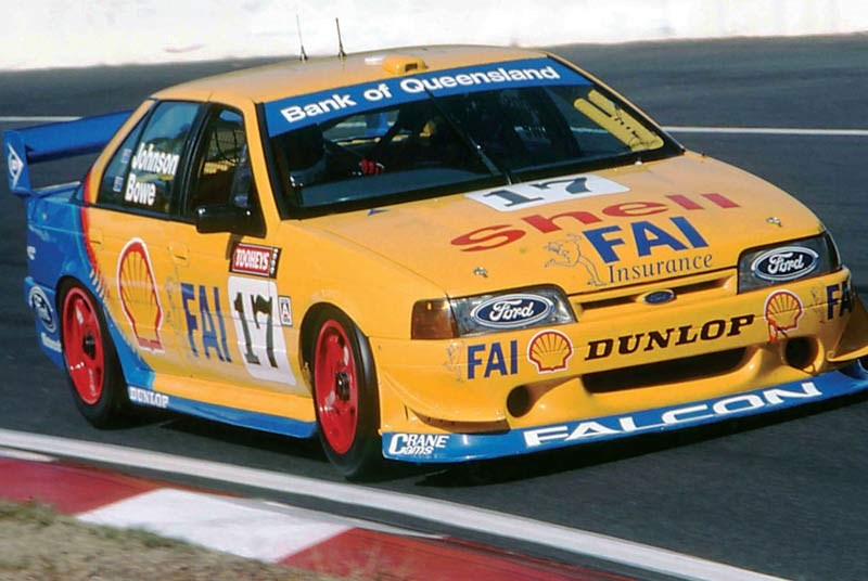 john bowe shell ford falcon