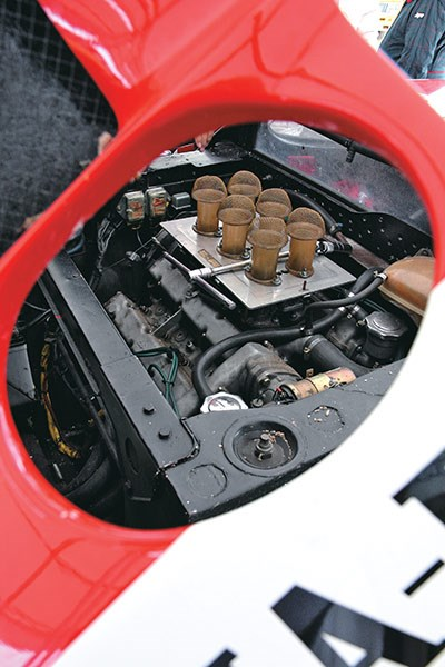 lancia stratos engine 2