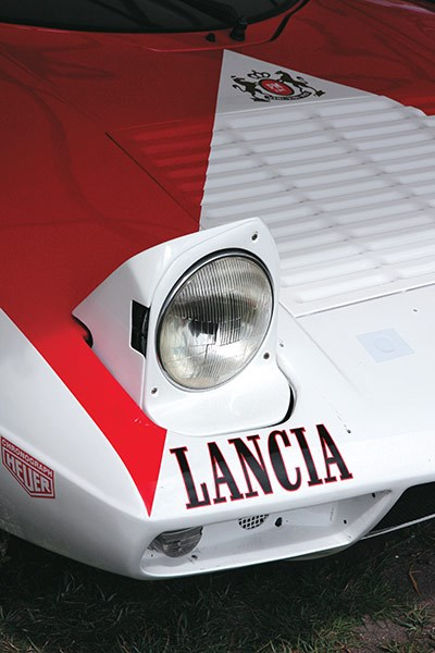 lancia stratos headlight
