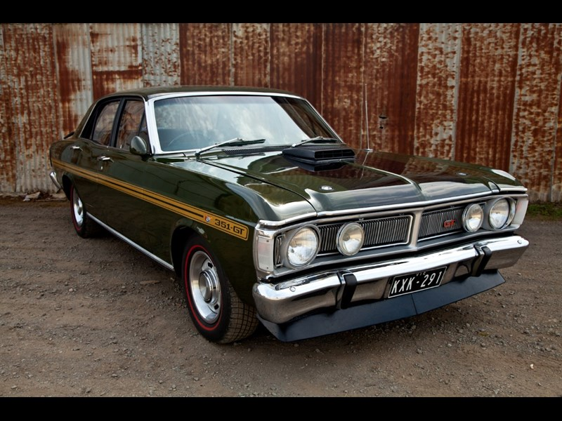 lloyds ford falcon GT HO phase III