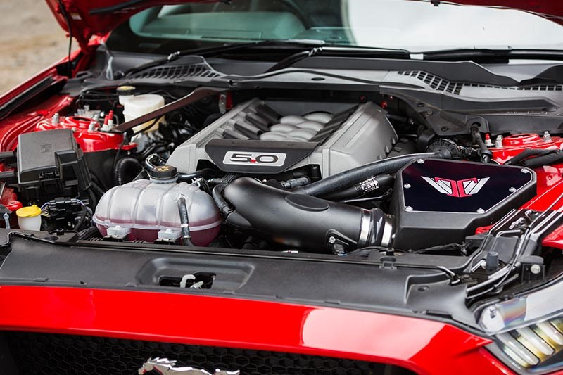 tickford mustang engine bay