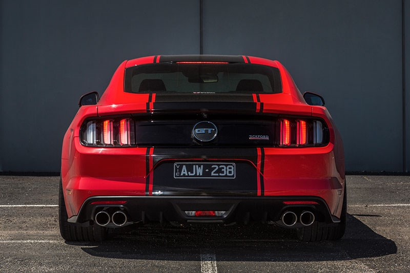 tickford mustang rear view 2